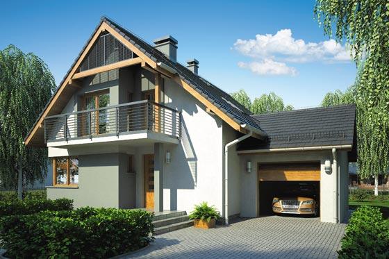 Projekt domu S-GL 620 Ekspert