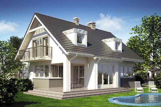 Projekt domu S-GL 627 Ekspert II