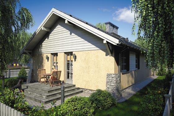 Projekt domu S-GL 63 Świt