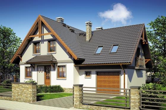 Projekt domu S-GL 630 Dracena