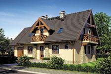 Projekt domu E-GL 631 Piast