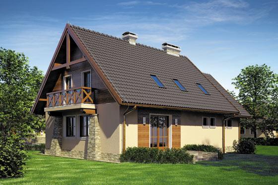 Projekt domu S-GL 631 Piast