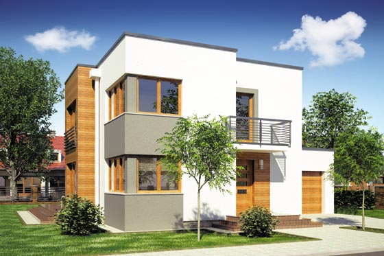 Projekt domu S-GL 632 Alfa