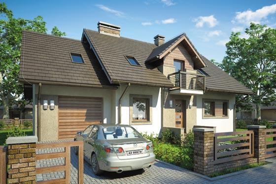 Projekt domu S-GL 634 Astra