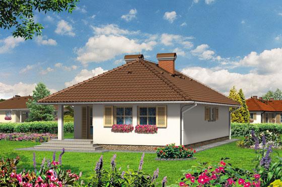 Projekt domu S-GL 64 Pejzaż