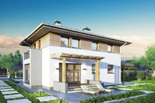 Projekt domu E-GL 643 Siena II