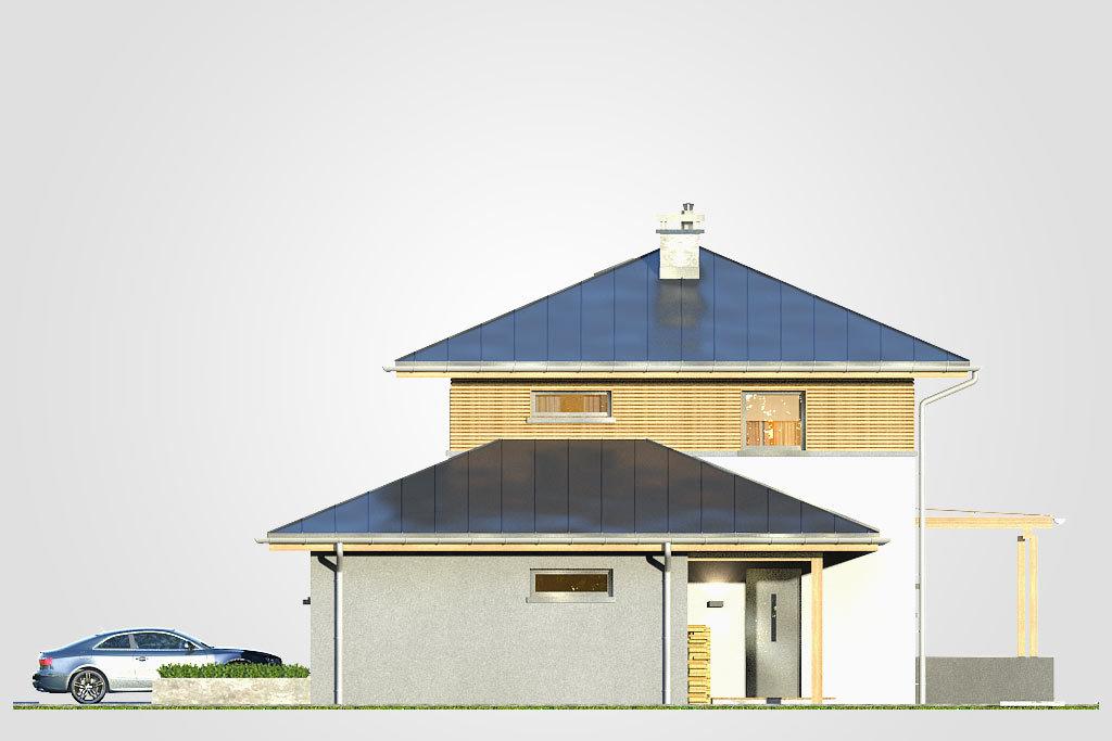 Elewacja domu S-GL 643 Siena II