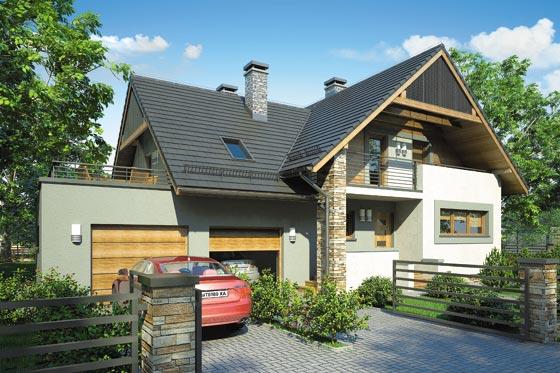 Projekt domu S-GL 644 Gama