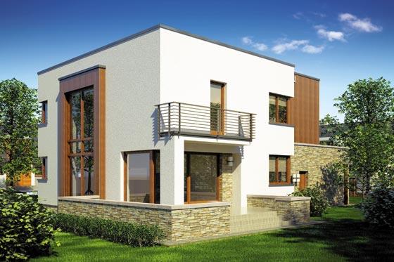 Projekt domu S-GL 657 Cynamon