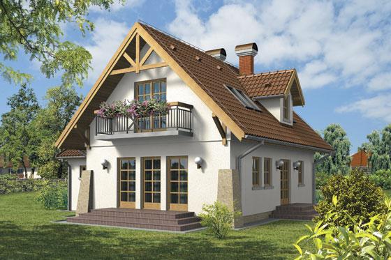 Projekt domu S-GL 66 Tomcio Paluch