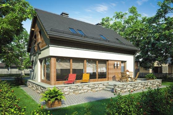 Projekt domu S-GL 662 Samba
