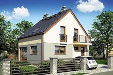 Projekt domu E-GL 674 Konkret