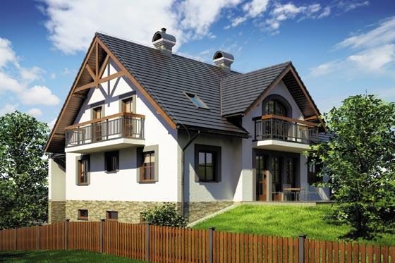 Projekt domu S-GL 678 Willa na Skarpie