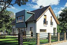 Projekt domu E-GL 682 Wega