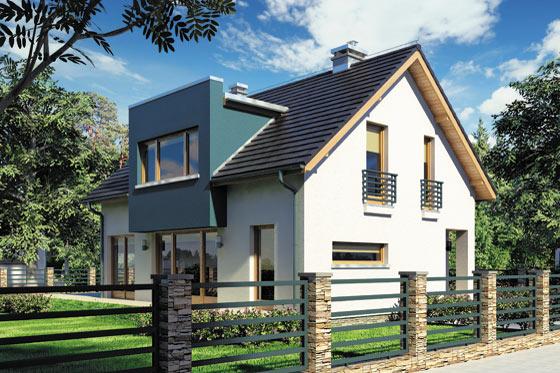 Projekt domu S-GL 682 Wega