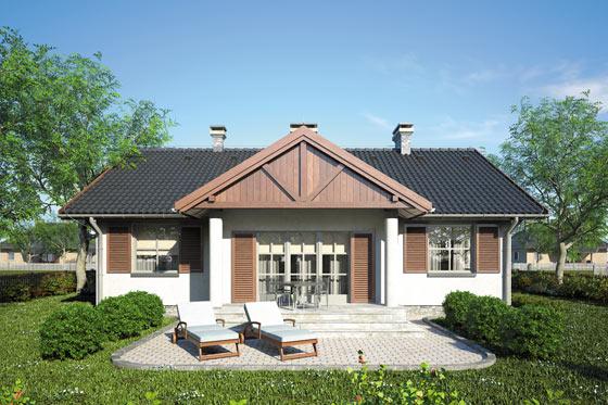Projekt domu S-GL 69 Dworeczek