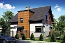 Projekt domu E-GL 690 Polo