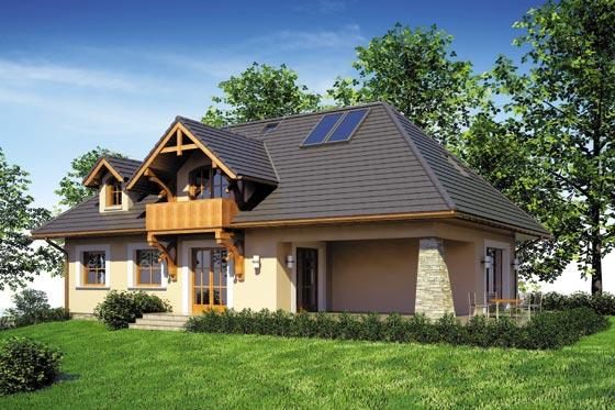 Projekt domu S-GL 700 Teddy