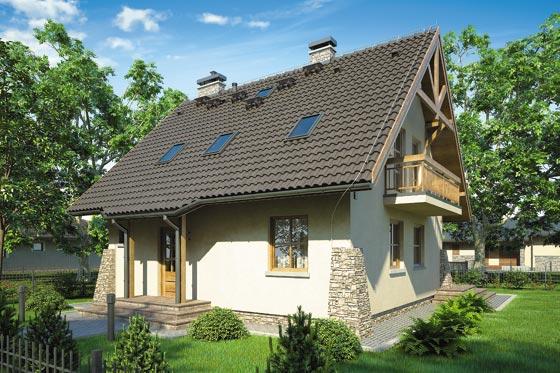 Projekt domu S-GL 706 Ada II