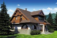 Projekt domu E-GL 724 Watra