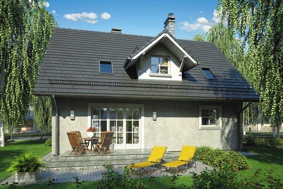 Projekt domu S-GL 728 Compact House