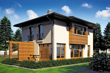 Projekt domu E-GL 730 Milano III