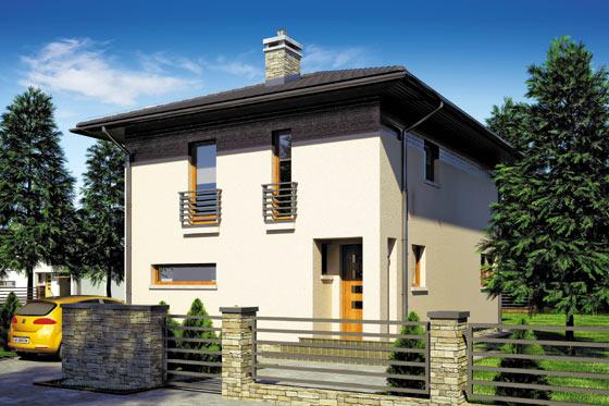 Projekt domu S-GL 730 Milano III