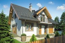 Projekt domu E-GL 742 Kamil