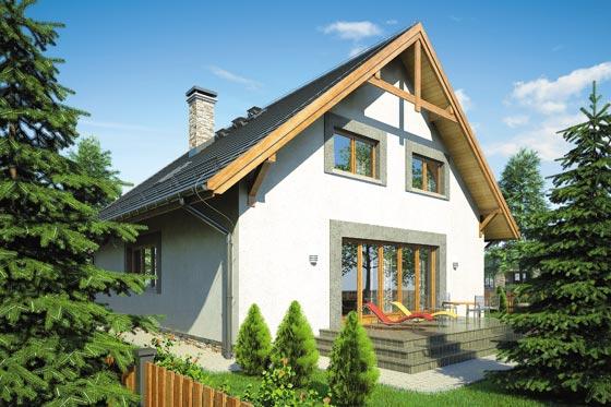 Projekt domu S-GL 742 Kamil