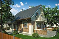 Projekt domu E-GL 754 Vesta