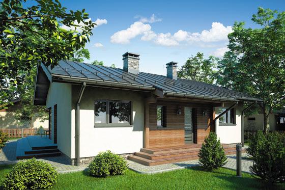 Projekt domu S-GL 765 Amber