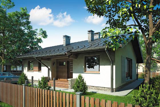 Projekt domu S-GL 766 Neo II