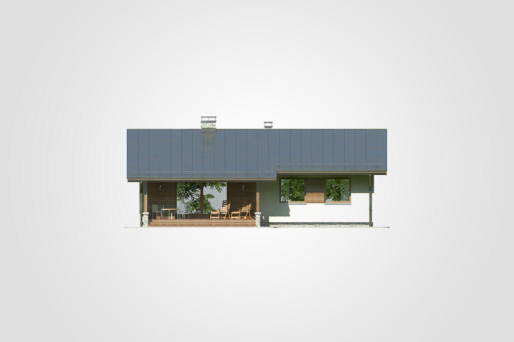 Elewacja domu S-GL 766 Neo II