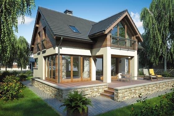 Projekt domu S-GL 770 Samba III