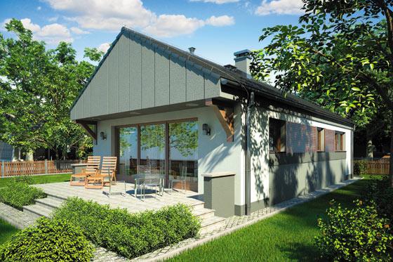 Projekt domu S-GL 771 Wektor II