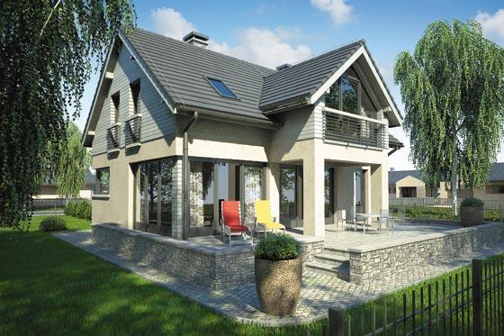 Projekt domu S-GL 776 Samba IV