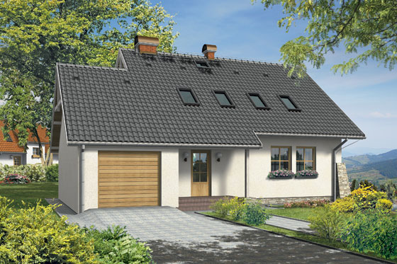 Projekt domu S-GL 79 Krokus