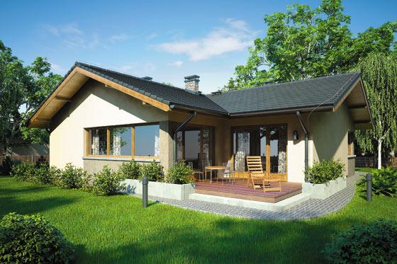 Projekt domu S-GL 791 Ostoja IV