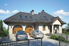 Projekt domu E-GL 805 Podkomorzy II