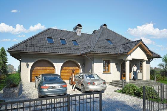 Projekt domu S-GL 805 Podkomorzy II