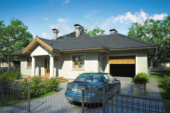 Projekt domu S-GL 806 Texas II