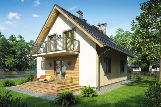 Projekt domu S-GL 809 Omega Plus