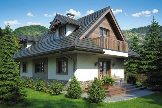 Projekt domu S-GL 817 Koliba