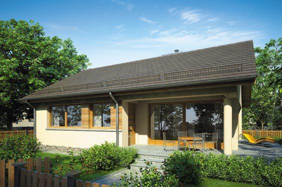 Projekt domu S-GL 827 Wektor VI