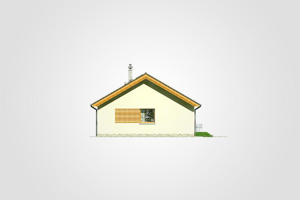 Elewacja domu S-GL 827 Wektor VI