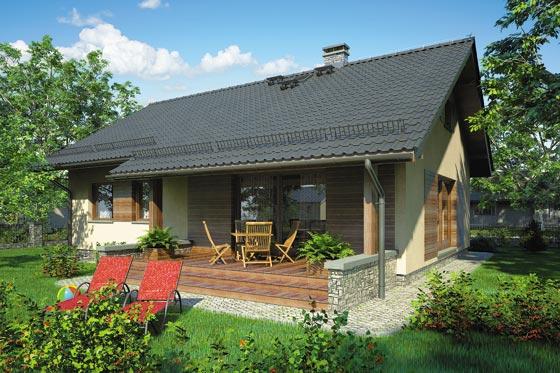 Projekt domu S-GL 830 Neo IV