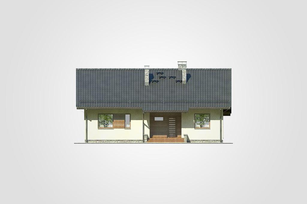 Elewacja domu S-GL 830 Neo IV