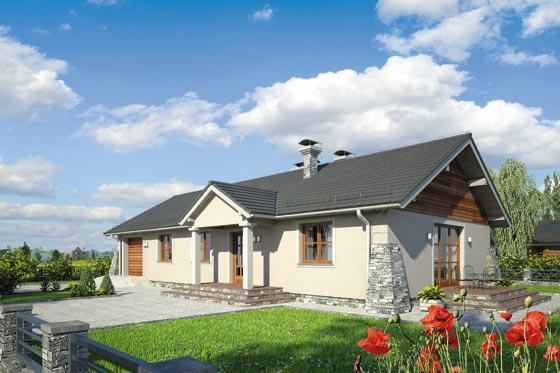 Projekt domu S-GL 849 Brzask II