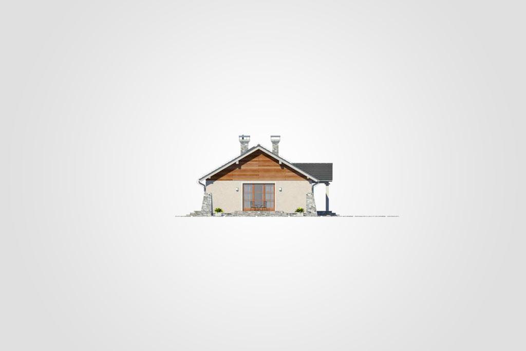 Elewacja domu S-GL 849 Brzask II