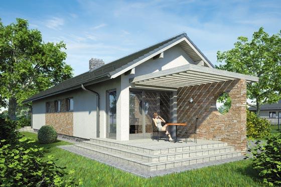 Projekt domu S-GL 85 Neptun